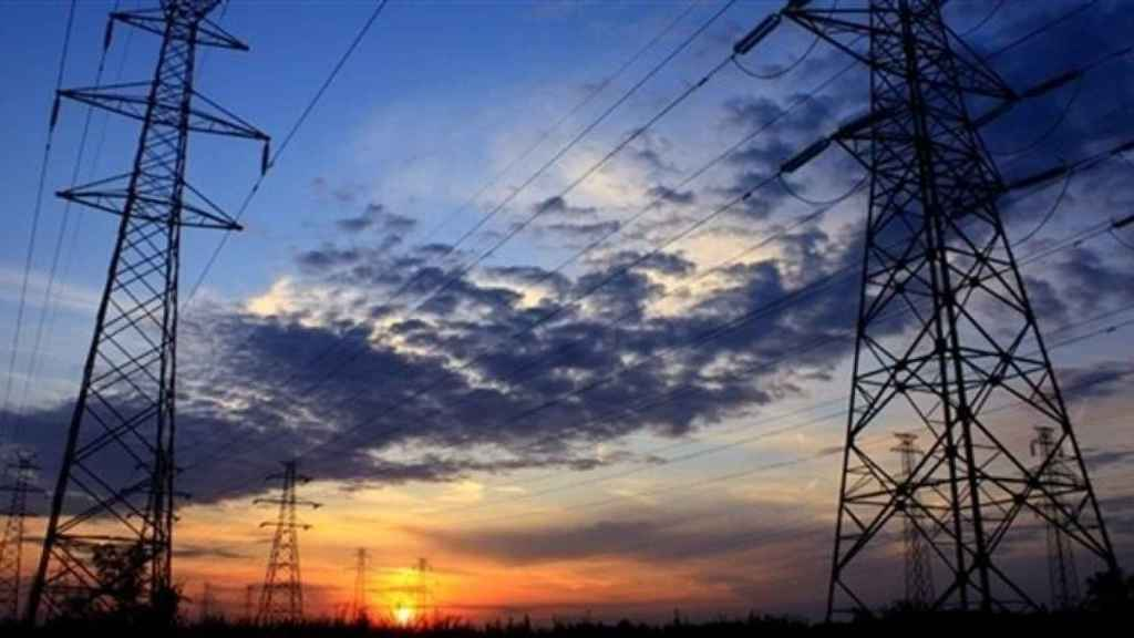 Imagen de archivo de torres eléctricas.