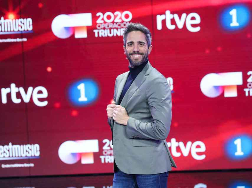 Roberto Leal en una imagen promocional de TVE.
