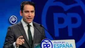 El secretario general del PP, Teodoro García Egea, en una imagen de archivo.