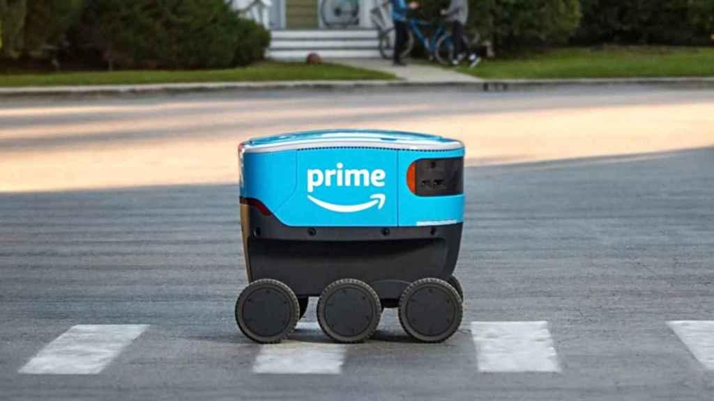 Scout, el robot de Amazon Prime.