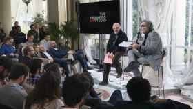 Jaume Roures y Tatxo Benet (Mediapro)