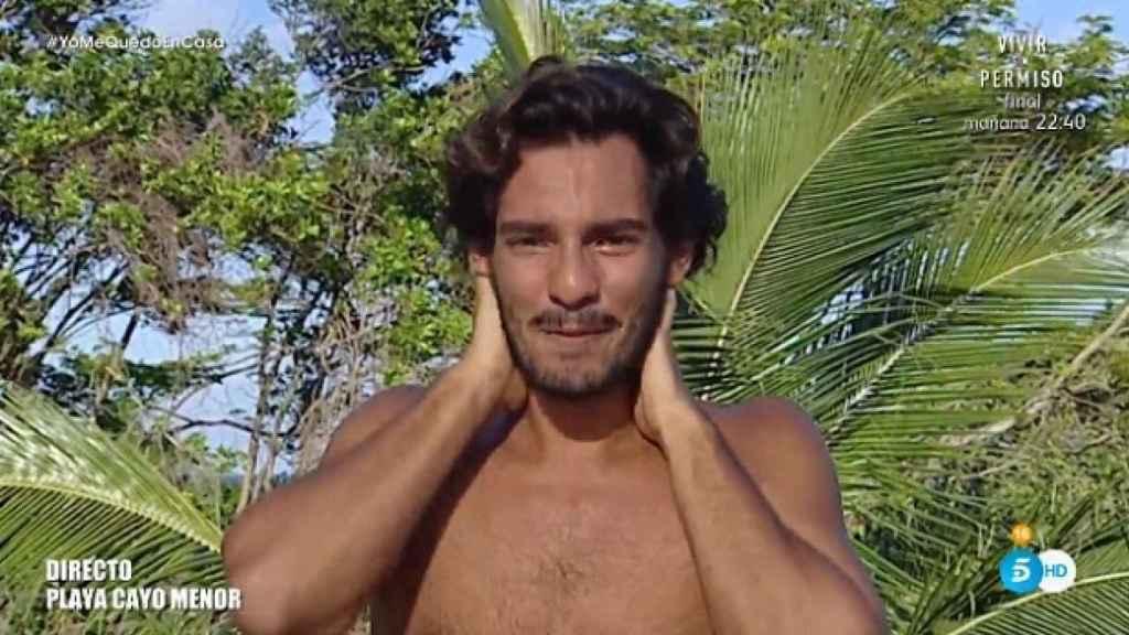 Alejandro Reyes en 'Supervivientes'
