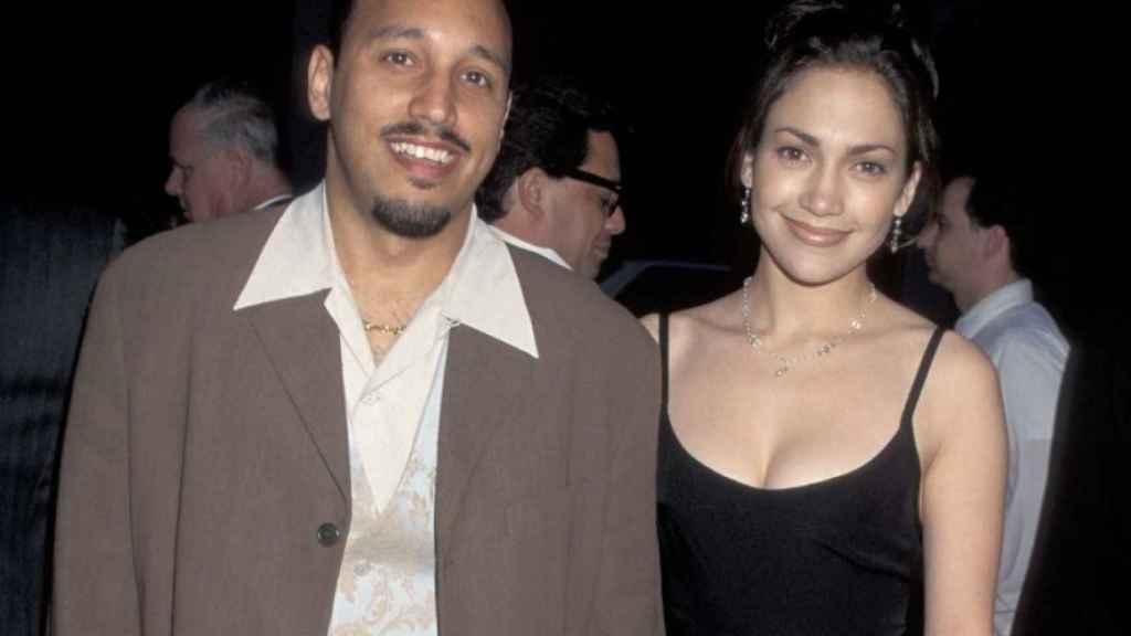 David Cruz y Jennifer Lopez, en una imagen divulgada en redes sociales.