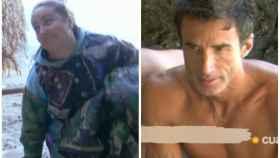 Rocío Flores y Hugo Sierra en montaje de JALEOS en 'Supervivientes'.