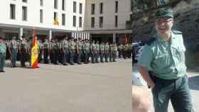 Trabajaba en la Academia de Oficiales de Aranjuez.