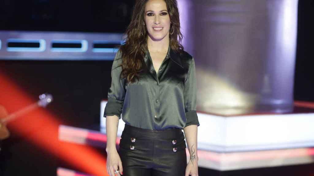 La cantante Malú en el programa 'La voz'.