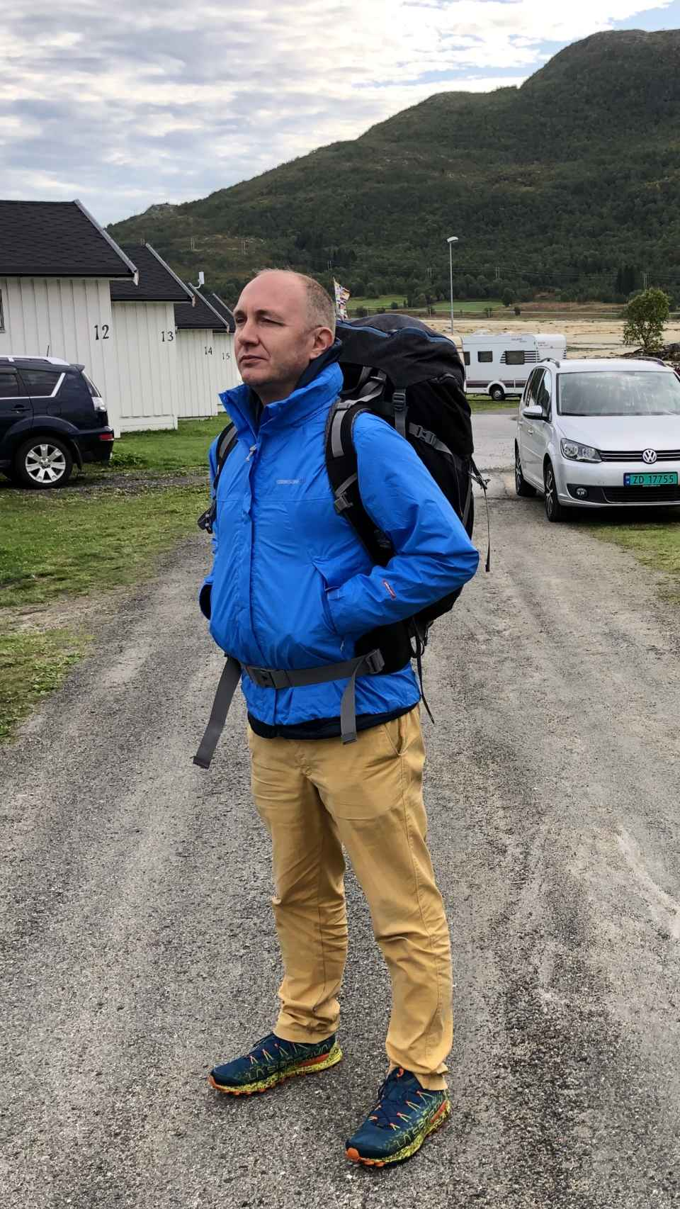 Víctor en Lofoten (Noruega).