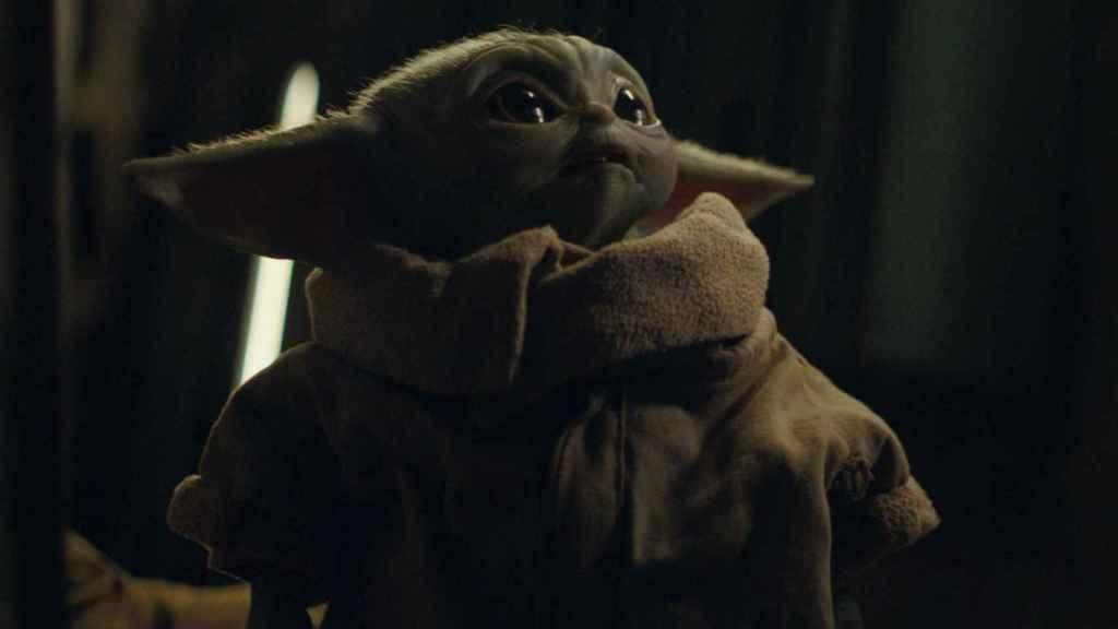 Baby Yoda dispuesto a ser el merchandising más vendido.