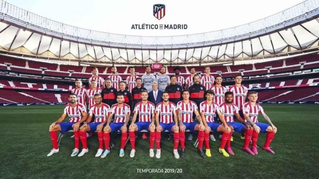 Foto oficial del Atlético de Madrid 2019/2020