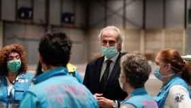 Enrique Ruiz Escudero, consejero de Sanidad de la Comunidad de Madrid./