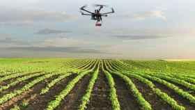 Uno de los drones de Paintec con sus sistema de teledetección.
