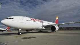 Uno de los aviones de Iberia.