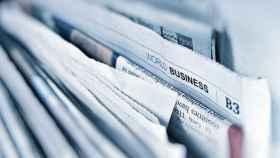 Periódicos impresos, en una imagen de archivo.