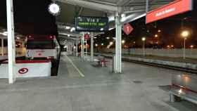 La estación de Alcalá de Henares vacía al término del turno de Andrés