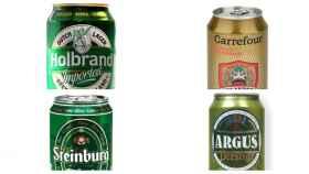 Cervezas de marca blanca.