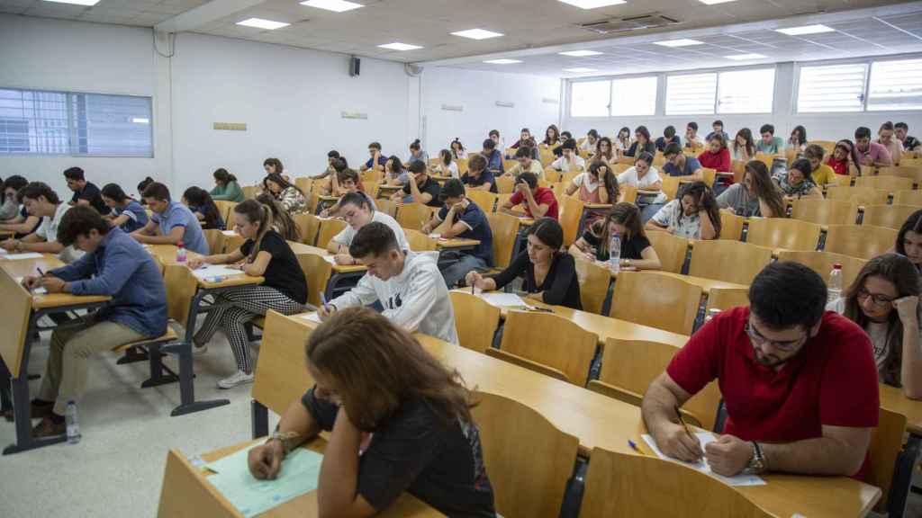 Pruebas de Selectividad en la Universidad de Sevilla el año pasado.