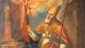 San Braulio, obispo de Zaragoza.