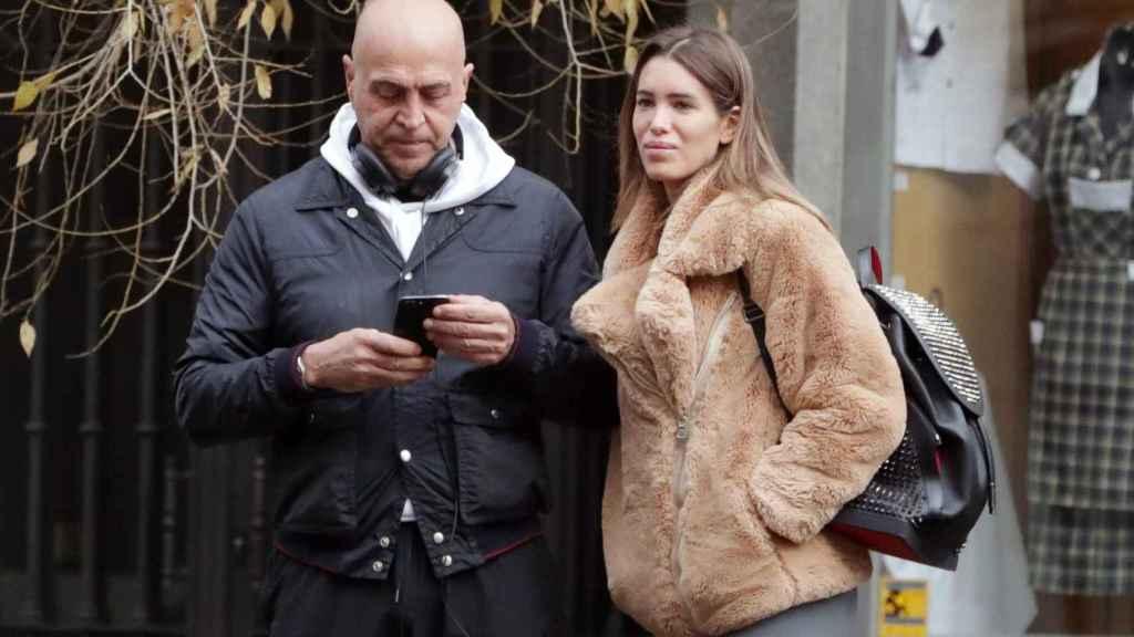 Kiko Matamoros junto a su pareja, la modelo Marta López Álamo.