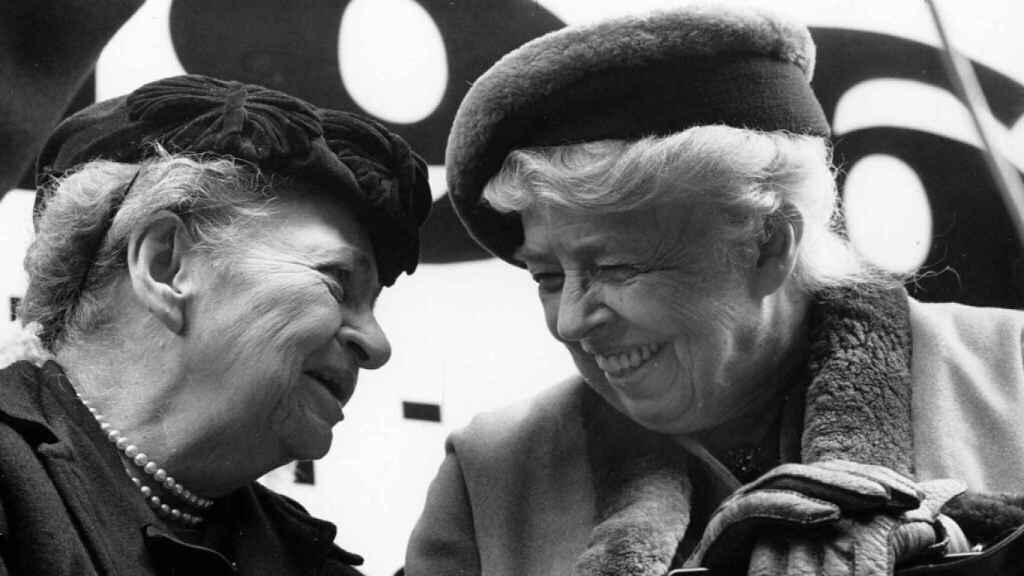 Hick y Eleanor Roosevelt.