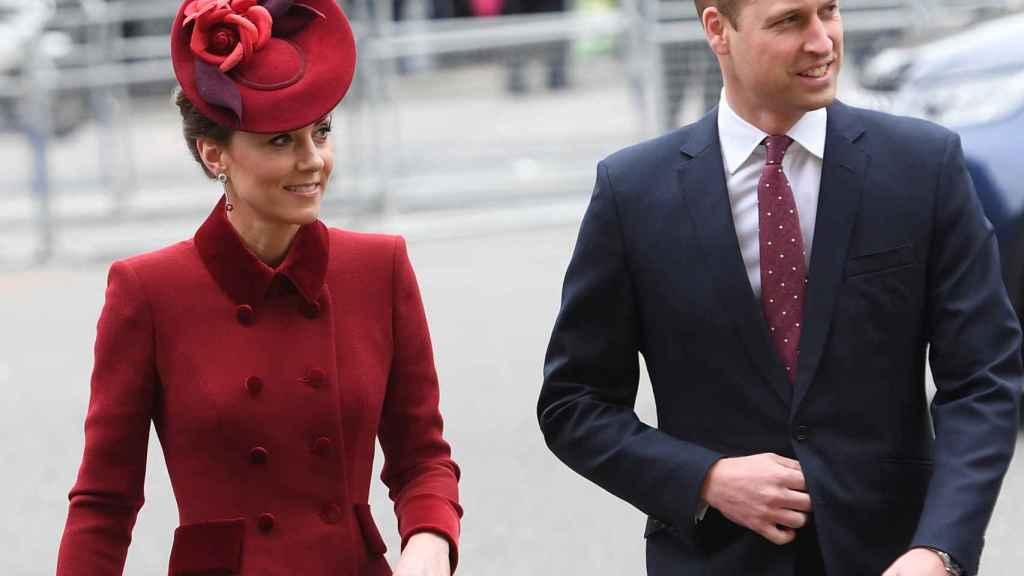 Los duques de Cambridge durante el día de la Commonwealth.