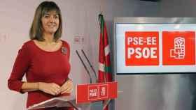 Idioa Mendia, secretaria general del PSOE en el País Vasco.
