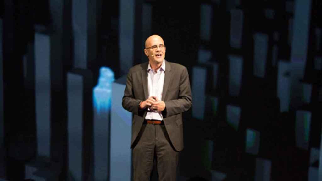 El vicepresidente de Intel Rick Echevarría.