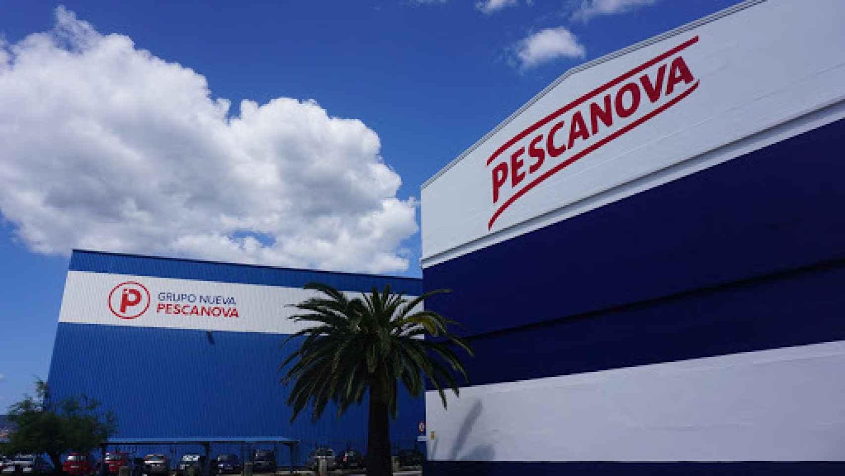 Una de las factorías de Pescanova.