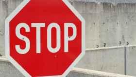 Una señal de Stop en una imagen de archivo.