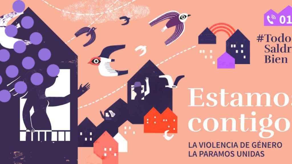 Campaña del Gobierno contra la violencia de género.