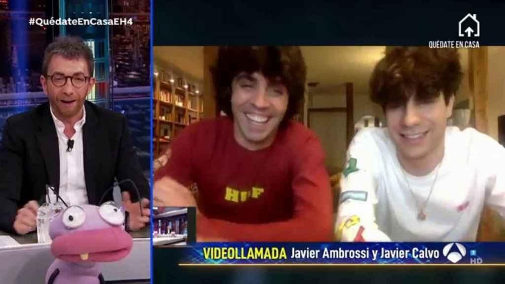 'Los Javis' hablaron en 'El Hormiguero' del estreno de la serie sobre 'La Veneno'.