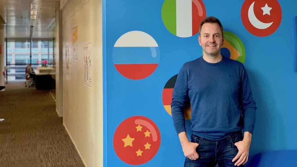 Bernhard Niesner, CEO y fundador de Busuu