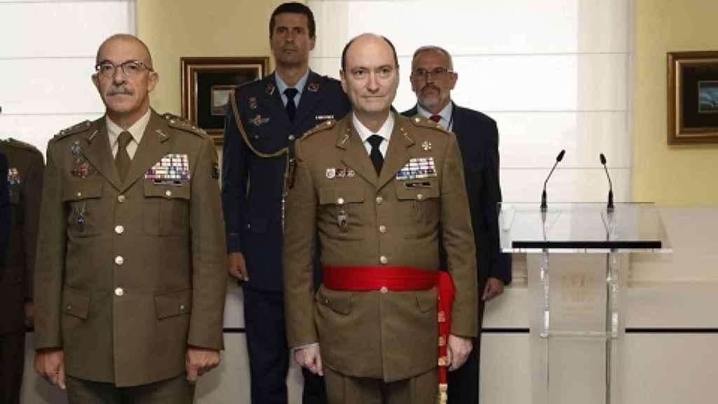 El teniente general Luis Manuel Martínez Meijide, al mando de la UME.