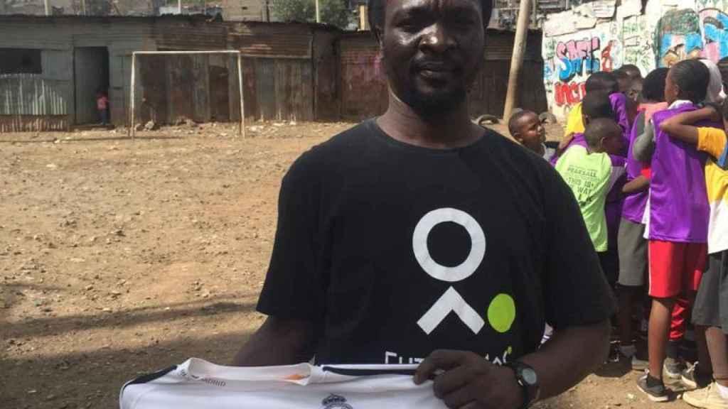 Austin Ajowi, en Mathare (Nairobi).