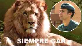 Fotograma del vídeo en homenaje al teniente coronel.