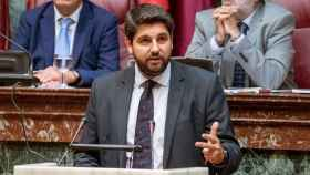 El presidente de Murcia, Fernando López Miras, en una imagen de archivo.