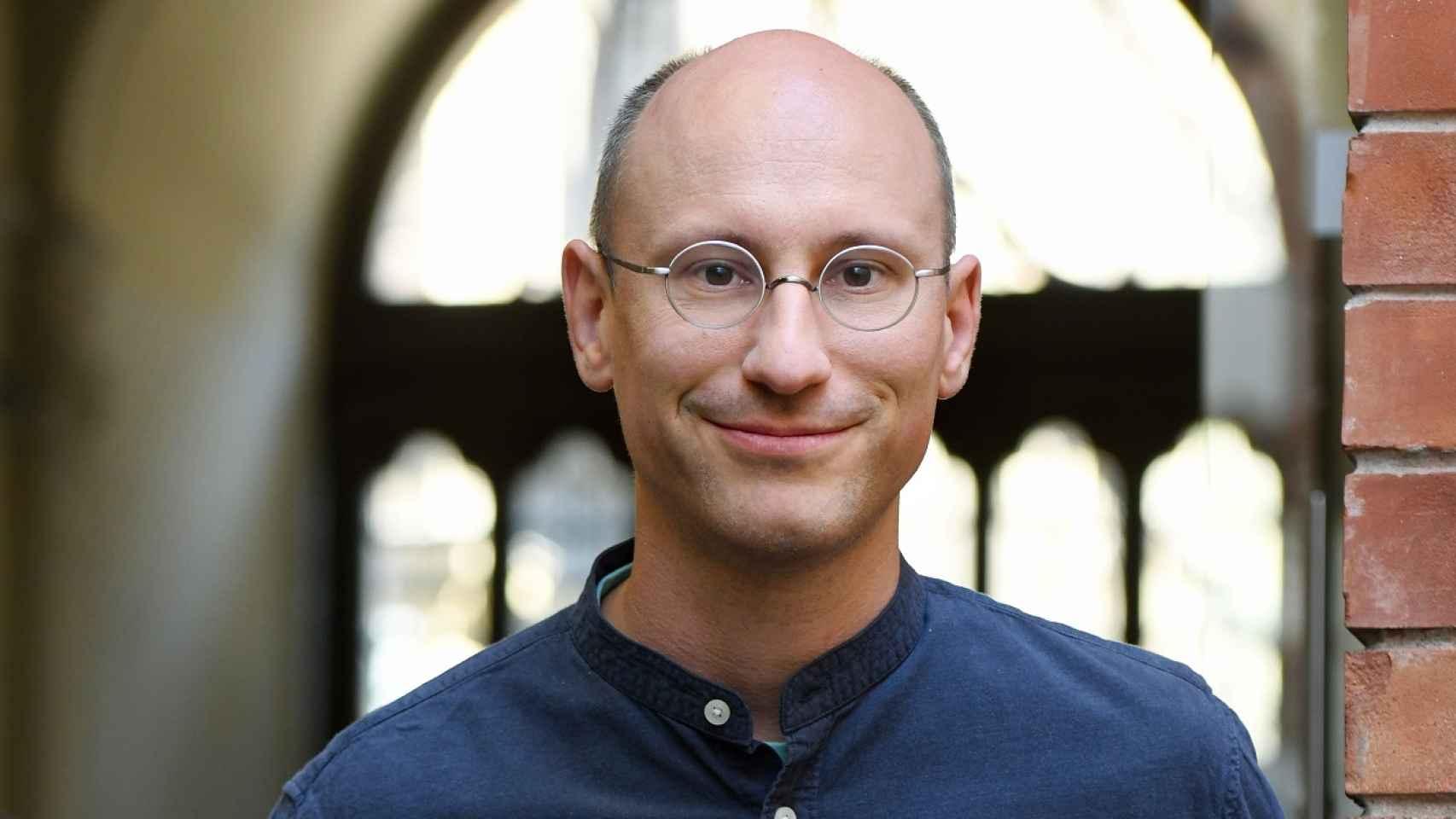 Peter Arvai, fundador y CEO de Prezi