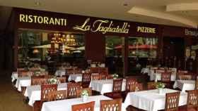 Un restaurante de La Tagliatella, del grupo AmRest.