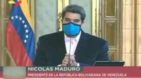 Nicolás Maduro en su discurso a los venezolanos tras conocer que EEUU le reclama por terrorismo.