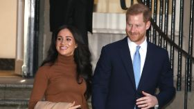El príncipe Harry y Meghan Markle  en una imagen de archivo.