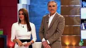 Juan y Medio y Eva Ruiz.