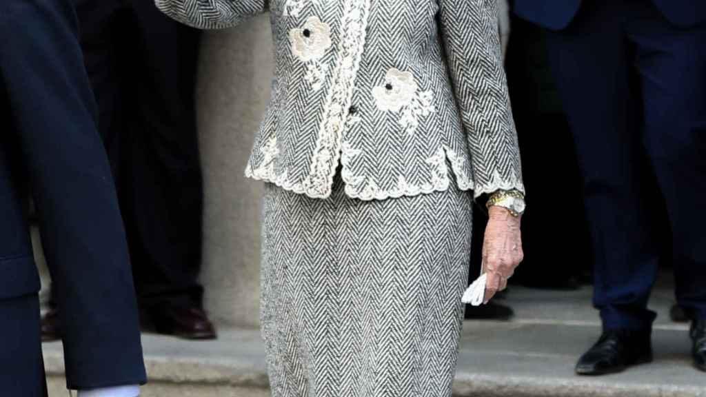 La reina emérita Sofía en una imagen de archivo.