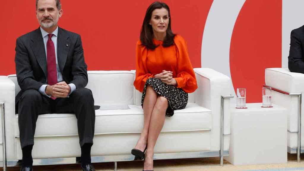 Felipe y Letizia en una imagen de archivo.