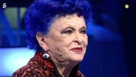 Lucía Bosé durante su última entrevista antes de morir.