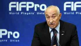 Philippe Piat, presidente de FIFPRO