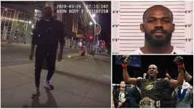 El vídeo del arresto de Jon Jones