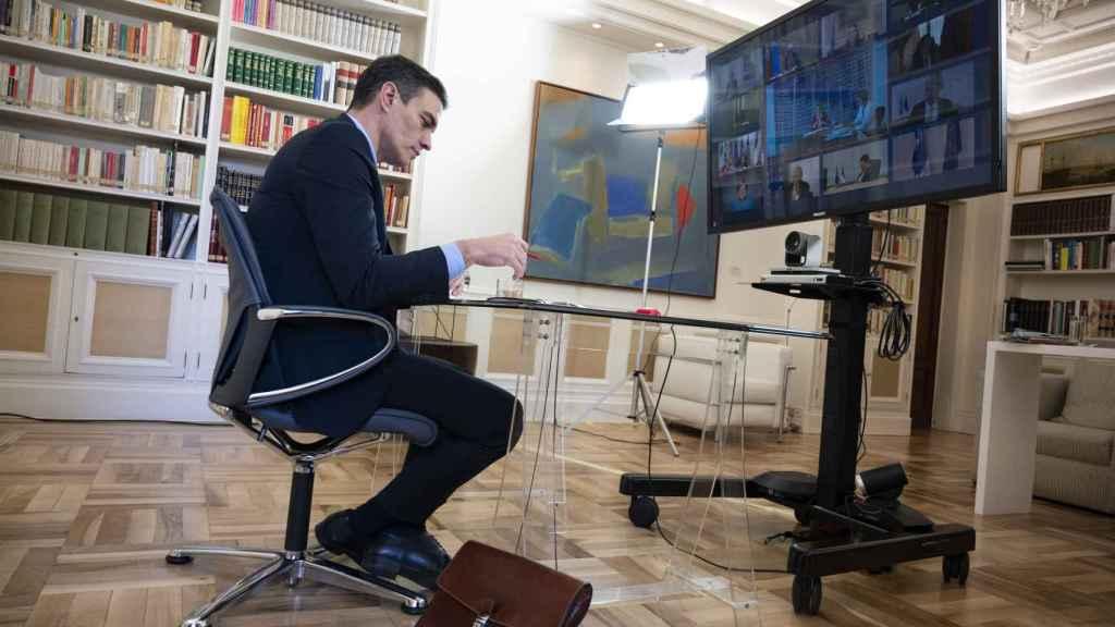 Pedro Sánchez, presidente del Gobierno.  (Borja Puig de la Bellacasa)