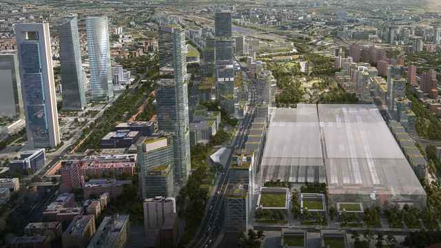 Concepto de la estación de Chamartín tras su renovación.