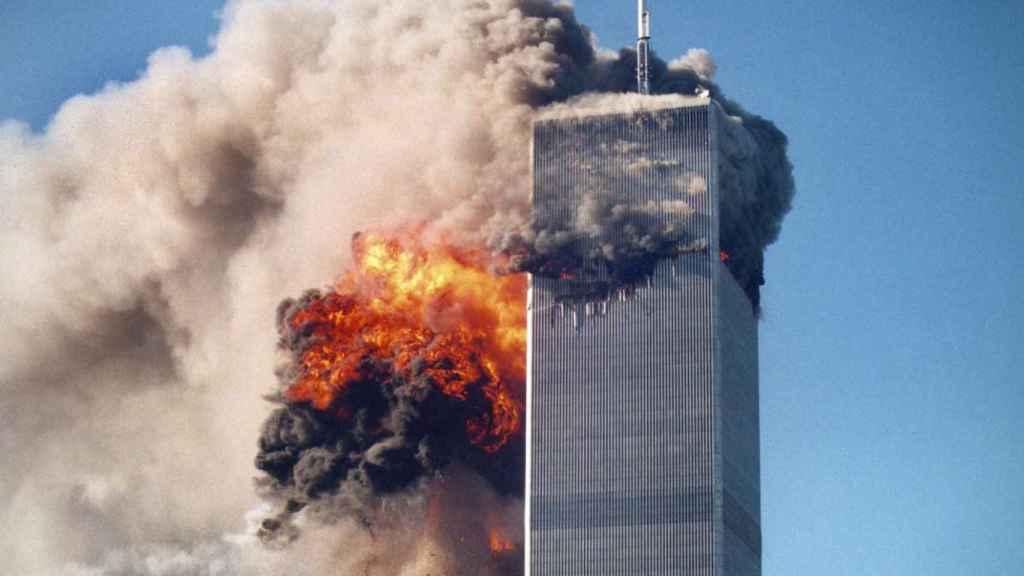 Atentado del 11-S  a las Torres Gemelas.