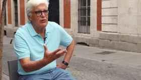 José María Chato Galante durante una entrevista.