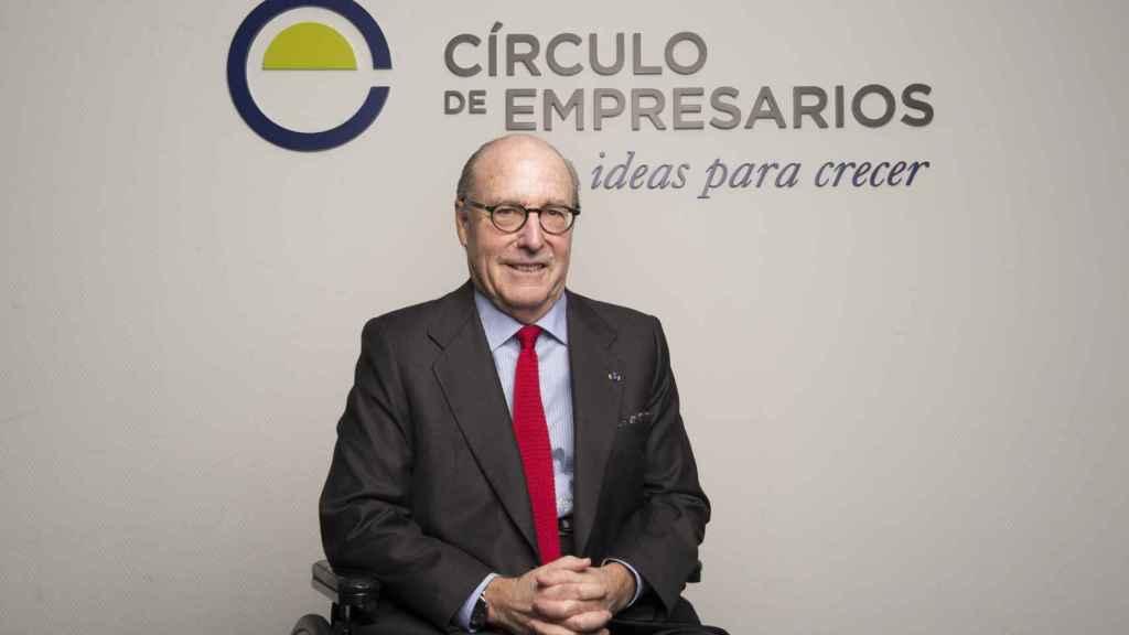 John de Zulueta, presidente del Círculo de Empresarios, en una imagen de archivo.